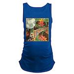 Celtic Harvest Moon Watercolor Maternity Tank Top