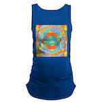 Sacred Geometry Watercolor Maternity Tank Top