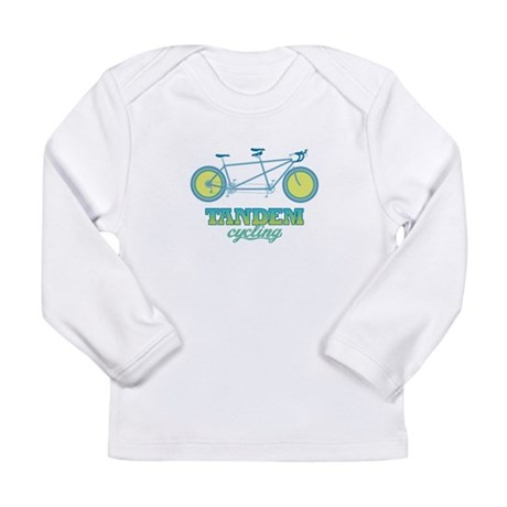 Retro Tandem Long Sleeve Infant T-Shirt