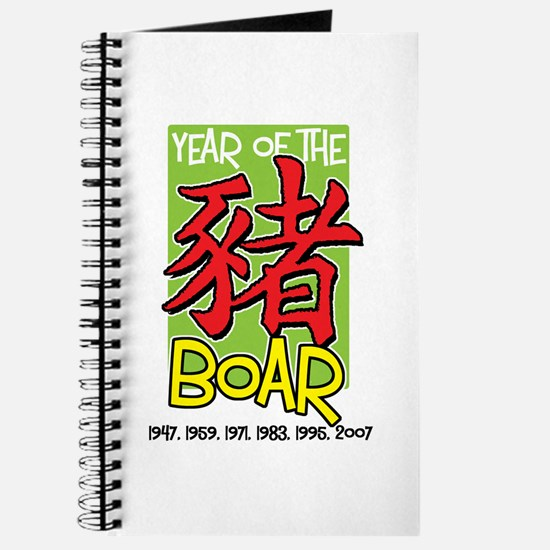 Year of the Boar Journal