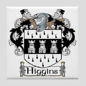 Higgins Coat of Arms Tile Coaster