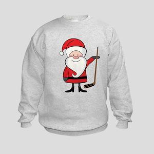 Hockey Sports Santa Sweatshirt