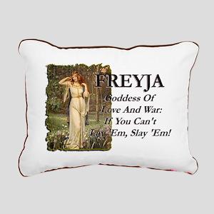 Freyja Rectangular Canvas Pillow