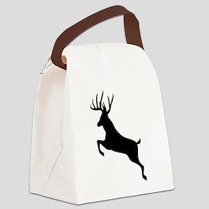 Buck deer Canvas Lunch Bag