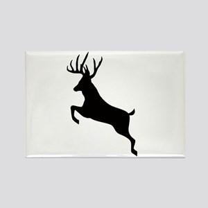 Buck deer Rectangle Magnet