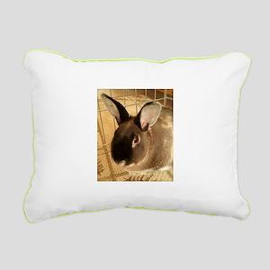 Rectangular Canvas Pillow ~ Brownie