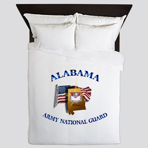 Alabama Army National Guard (ARNG) Queen Duvet