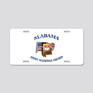 Alabama Army National Guard (ARNG) Aluminum Licens