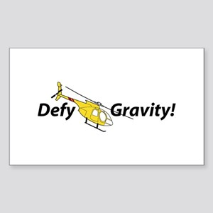 Defy Gravity YonW Rectangle Sticker