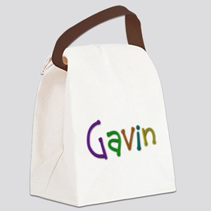 Gavin Play Clay Canvas Lunch Bag