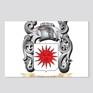 Hearst Coat of Arms - Fam Postcards (Package of 8)