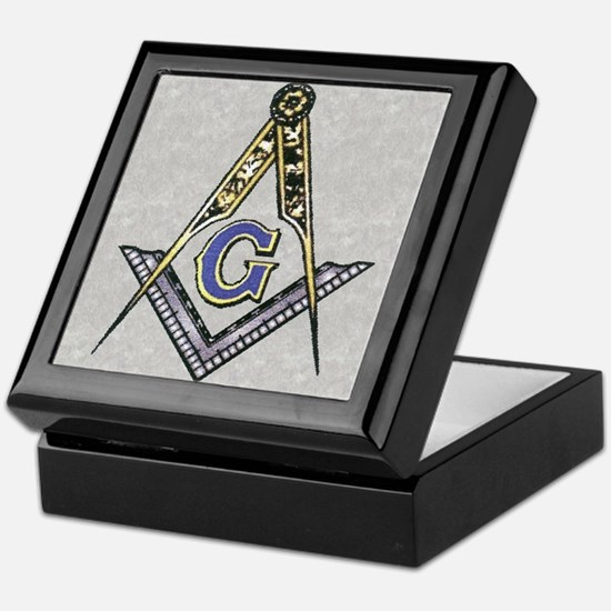Cute Freemasons Keepsake Box