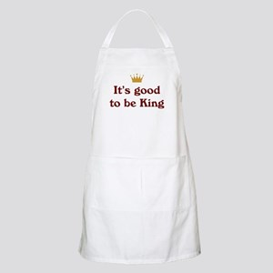 It's good to be King BBQ Apron