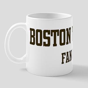 Boston Terrier Fan Club Mug