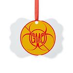 NO GMO Ornament Bio-hazard Picture Ornament