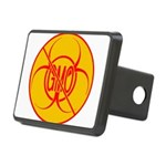 NO GMO Bio-hazard Rectangular Hitch Cover