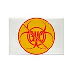 NO GMO Magnets Bio-hazard No GMO Magnet 100 pack