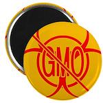 NO GMO Bio-hazard Magnet