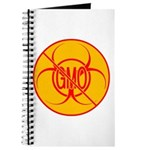 NO GMO Notebook Bio-hazard No GMO Journal