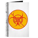 NO GMO Notebook Bio-hazard No GMO Journal