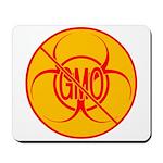 No GMO Biohazard Mousepad