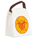 NO GMO Bio-hazard Canvas Lunch Bag