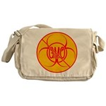 NO GMO Bio-hazard Messenger Bag