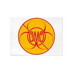 No GMO Biohazard 5'x7'Area Rug