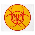 No GMO Biohazard King Duvet