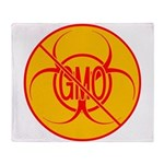 NO GMO Blankets Bio-hazard Throw Blanket