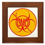 NO GMO Bio-hazard Framed Tile