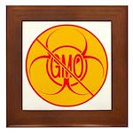 NO GMO Bio-hazard Framed Tile