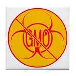 No GMO Biohazard Tile Coaster