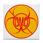 NO GMO Coasters Bio-hazard No GMO Coasters 4 set