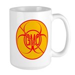 NO GMO Bio-hazard Large Mug