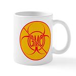 No GMO Biohazard 11 oz Ceramic Mug