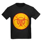NO GMO Bio-hazard Kids Dark T-Shirt