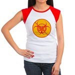 No GMO Biohazard Junior's Cap Sleeve T-Shirt