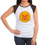 NO GMO Bio-hazard Women's Cap Sleeve T-Shirt