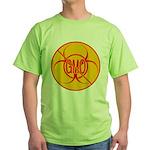 NO GMO Bio-hazard Green T-Shirt