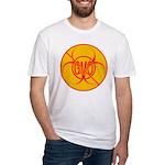 NO GMO Bio-hazard Fitted T-Shirt
