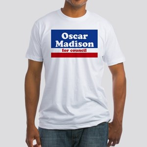 Oscar Madison for Council Fitted T-Shirt