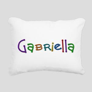 Gabriella Play Clay Rectangular Canvas Pillow