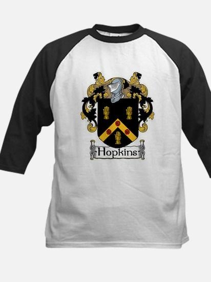 Hopkins Coat of Arms Kids Baseball Jersey