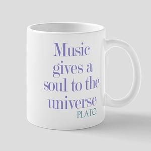 Music gives soul Mug
