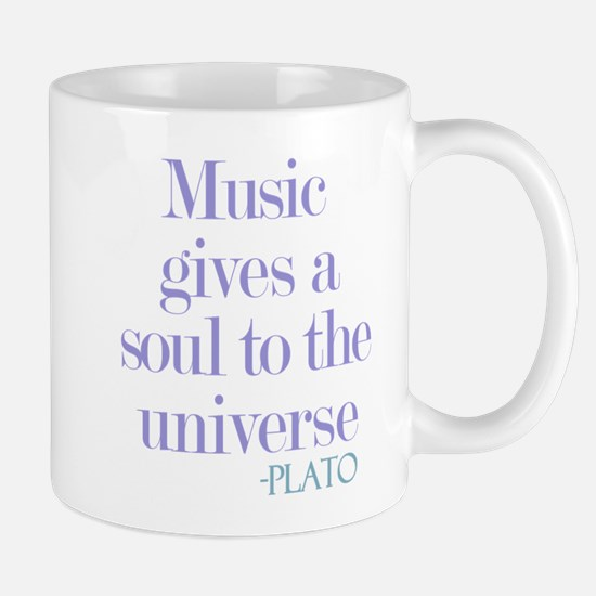 Music gives soul Mug