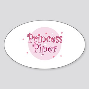 Piper Oval Sticker