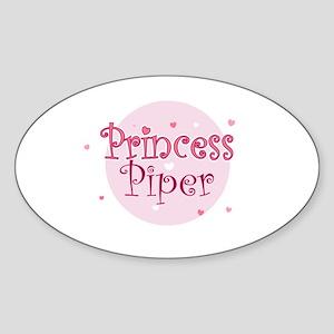 Piper Oval Sticker