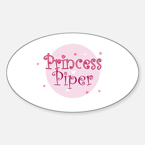 Piper Oval Decal