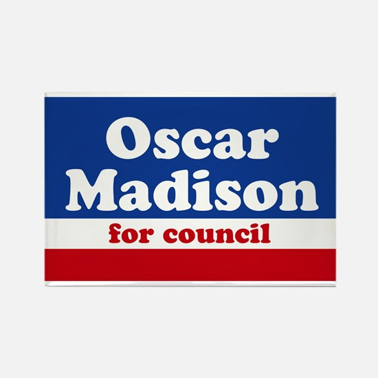Oscar Madison for Council Ice Box Magnet